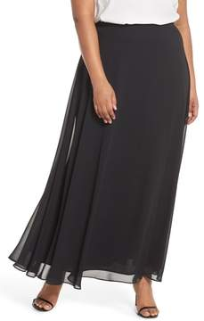Alex Evenings Long Circle Skirt