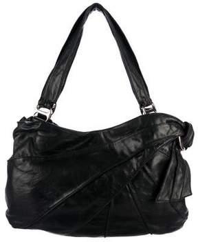 Kooba Pleated Leather Shoulder Bag
