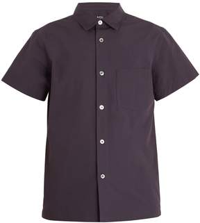 A.P.C. Cippi short-sleeved cotton shirt