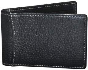 Dopp Men's Hudson RFID-Blocking Front-Pocket Clip Flip Wallet