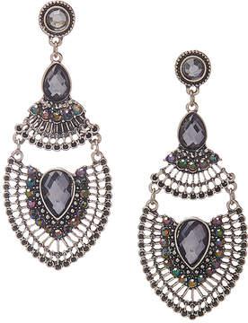 Carole Gray Oversize Drop Earrings