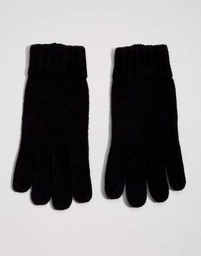 Dents Stirling Lambswool Glove with Leather Palm
