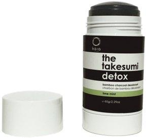 Juicy Bamboo The Takesumi Detox Charcoal Deodorant Lime Mint
