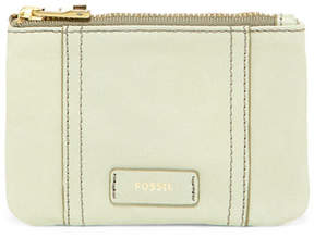 Fossil Ellis Leather Zip Coin Wallet