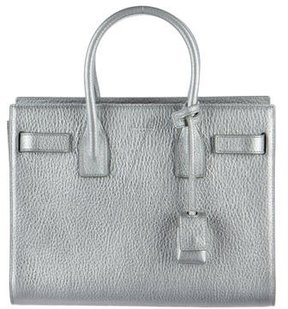 Saint Laurent Small Sac De Jour Tote - METALLIC - STYLE
