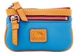 Dooney & Bourke Patterson Leather Small Coin Case - AZURE - STYLE