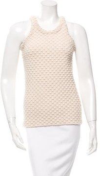 Celine Textured Sleeveless Top