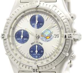 Breitling Chronomat A13048 Stainless Steel Automatic 40mm Mens Watch