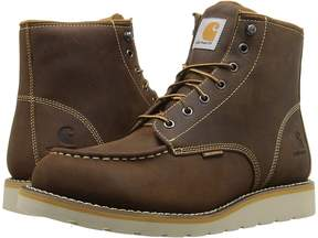 Carhartt 6 Waterproof Wedge Boot Men's Lace-up Boots