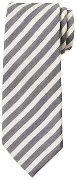 Banana Republic Bar Stripe Cotton-Silk Nanotex® Tie
