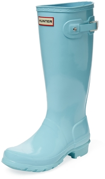 Hunter Juniors' Gloss Rain Boots
