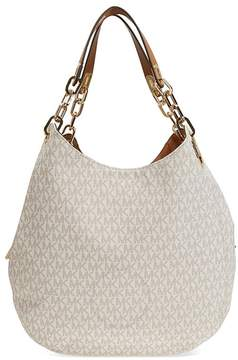 Michael Kors Fulton Large Logo Shoulder Bag - Vanilla - ONE COLOR - STYLE