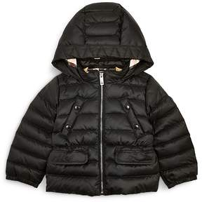 Burberry Girls' Mini Bronwyn Hooded Down Jacket - Baby, Little Kid