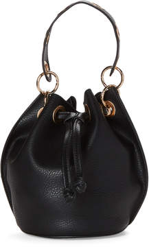Urban Expressions Black Seraphina Bucket Crossbody