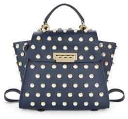 Zac Posen Eartha Iconic Embellished Convertible Backpack
