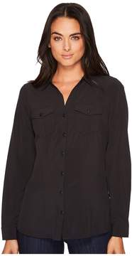 Exofficio Kizmettm Long Sleeve Shirt Women's Long Sleeve Button Up
