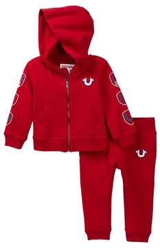 True Religion French Terry Sweatsuit (Baby Boys)