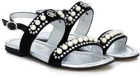 Roberto Cavalli studded open-toe sandals