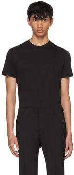 Prada Three-Pack Black Basic T-Shirts