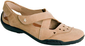Ros Hommerson Taupe Carrie Leather Mary Jane - Women