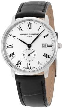 Frederique Constant Slimline FC-245WR5S6 Stainless Steel 39mm Mens Watch