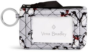 Vera Bradley Iconic Zip ID Case - PLAYFUL PENGUINS - STYLE