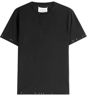 Maison Margiela Embellished Cotton T-Shirt