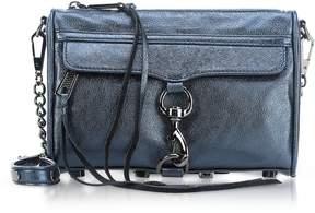 Rebecca Minkoff Laminated Mini M.a.c. Crossbody Bag - DARK BLUE - STYLE