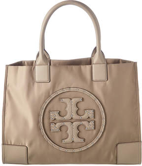 Tory Burch Ella Stud Logo Tote - ONE COLOR - STYLE