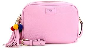Dolce & Gabbana Leather cross-body bag - PINK - STYLE