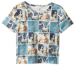 Paul Smith Short Sleeves Space Tee Shirt Boy's T Shirt