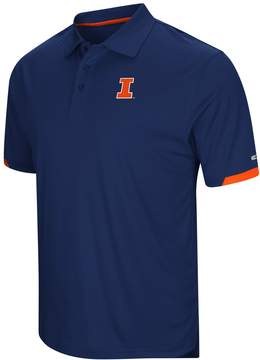 Colosseum Men's Illinois Fighting Illini Wedge Polo