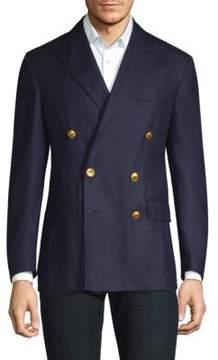 Polo Ralph Lauren Doeskin Wool Double Breasted Blazer