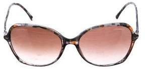Chanel Oval Spring Sunglasses