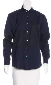 Timo Weiland Collared Button-Up Top w/ Tags