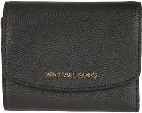 MICHAEL Michael Kors Trifold Ava Wallet - NERO - STYLE