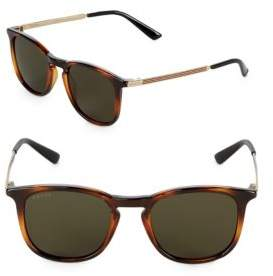 Gucci Tinted 51MM Wayfarer Sunglasses