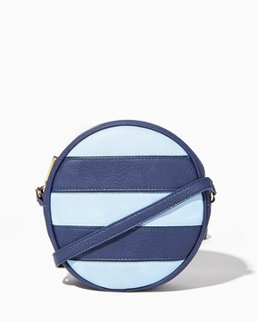 Charming charlie Striped Canteen Crossbody