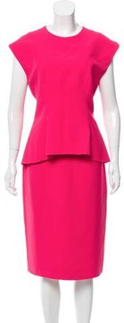 Christian Dior Silk Midi Dress