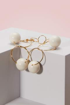 Marni Metal bracelet with spheres