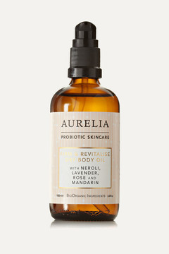 Aurelia Probiotic Skincare - Firm And Revitalise Dry Body Oil, 100ml - Colorless