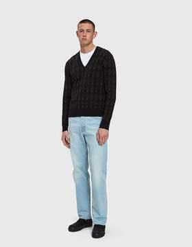 Dries Van Noten Five-Pocket Jean in Light Blue