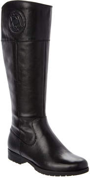 Rockport Tristina Rosette Leather Tall Boot