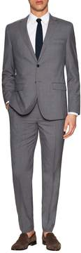 English Laundry Men's Checkered Wool Notch Lapel Suit