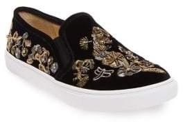 Betsey Johnson Ellie Velvet Sneakers