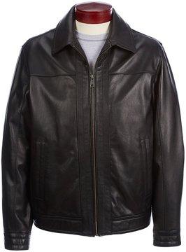 Roundtree & Yorke Lambskin Leather Hipster Jacket