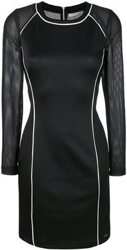 Calvin Klein Jeans mesh-panelled dress