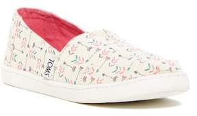Toms Natural Multi Arrows Slip-On Sneaker (Little Kid & Big Kid)