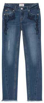 Hudson Girl's Riva Embroidered Skinny Jeans
