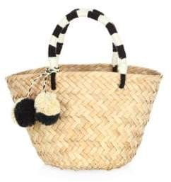 Kayu Mini St. Tropez Small Straw Bag
